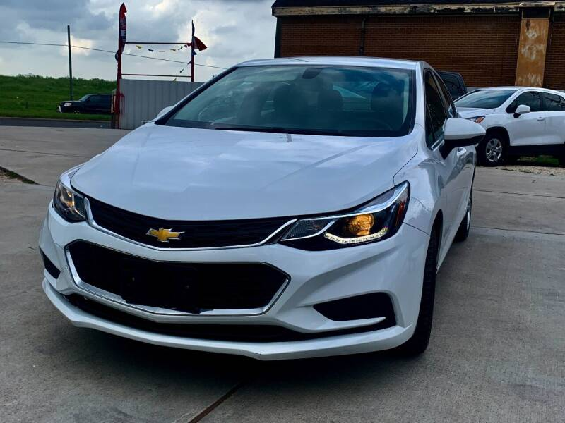 2017 Chevrolet Cruze for sale at Auto Hunters in Houston TX