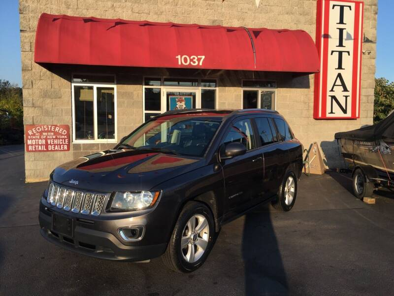 2015 Jeep Compass for sale at Titan Auto Sales LLC in Albany NY