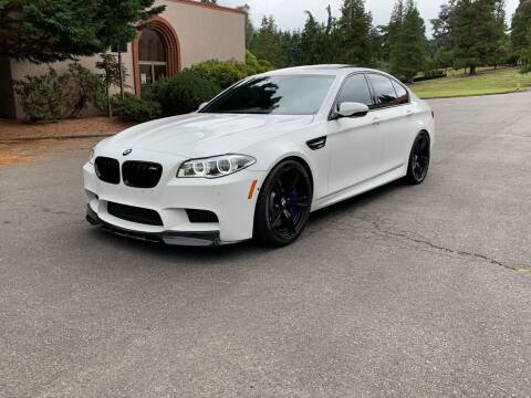 2015 BMW M5 for sale at First Union Auto in Seattle WA