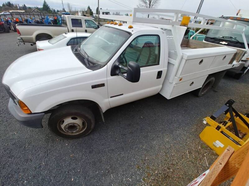 2001 Ford F-450 Super Duty for sale at DirtWorx Equipment - Trucks in Woodland WA