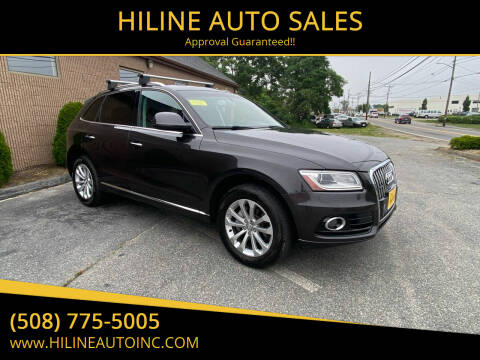2015 Audi Q5 for sale at HILINE AUTO SALES in Hyannis MA
