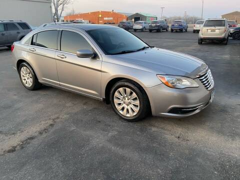 2013 Chrysler 200 for sale at Hill Motors in Ortonville MN