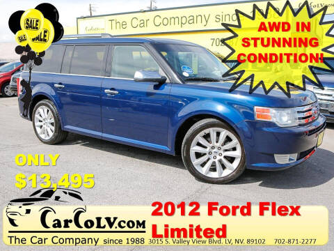 2012 Ford Flex for sale at The Car Company in Las Vegas NV