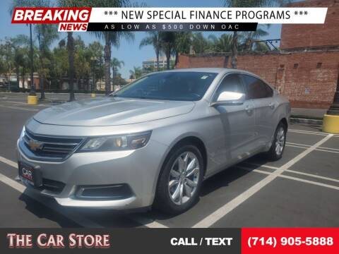 2016 Chevrolet Impala for sale at The Car Store in Santa Ana CA