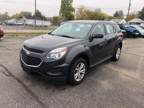 2017 Chevrolet Equinox for sale at Dean's Auto Sales in Flint MI
