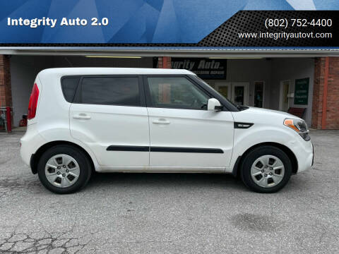2012 Kia Soul for sale at Integrity Auto 2.0 in Saint Albans VT