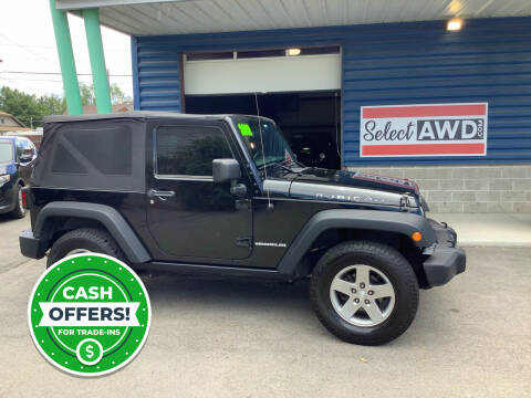 2012 Jeep Wrangler for sale at Select AWD in Provo UT