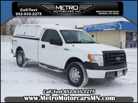 2011 Ford F-150 for sale at Metro Motorcars Inc in Hopkins MN