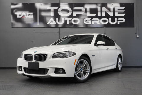2016 BMW 5 Series for sale at TOPLINE AUTO GROUP in Kent WA