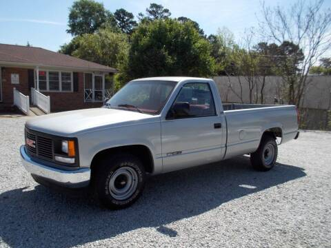 1991 GMC Sierra 1500 for sale at Carolina Auto Connection & Motorsports in Spartanburg SC