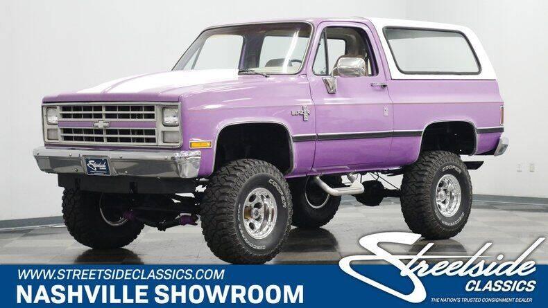 1987 Chevrolet Blazer for sale in La Vergne, TN