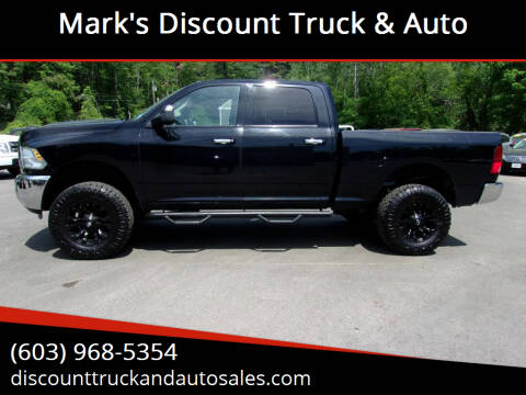 2014 RAM Ram Pickup 2500 for sale at Mark's Discount Truck & Auto in Londonderry NH