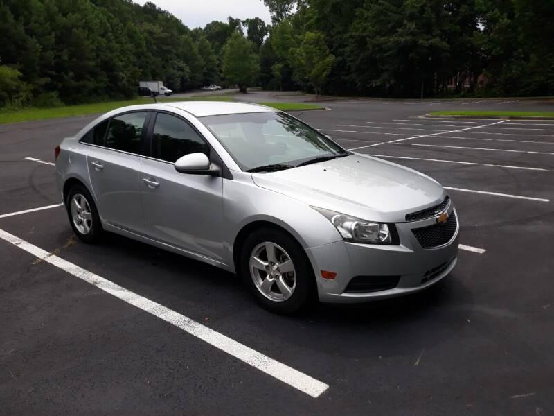 2012 Chevrolet Cruze for sale at JCW AUTO BROKERS in Douglasville GA