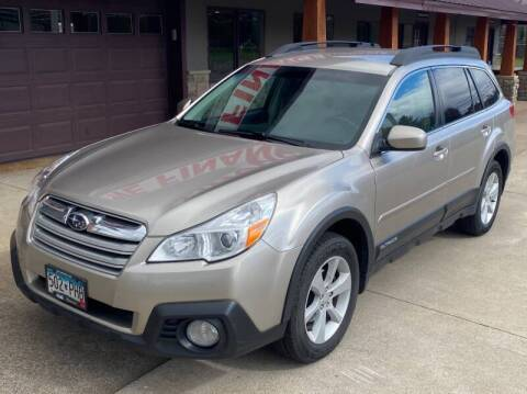 2014 Subaru Outback for sale at Affordable Auto Sales in Cambridge MN