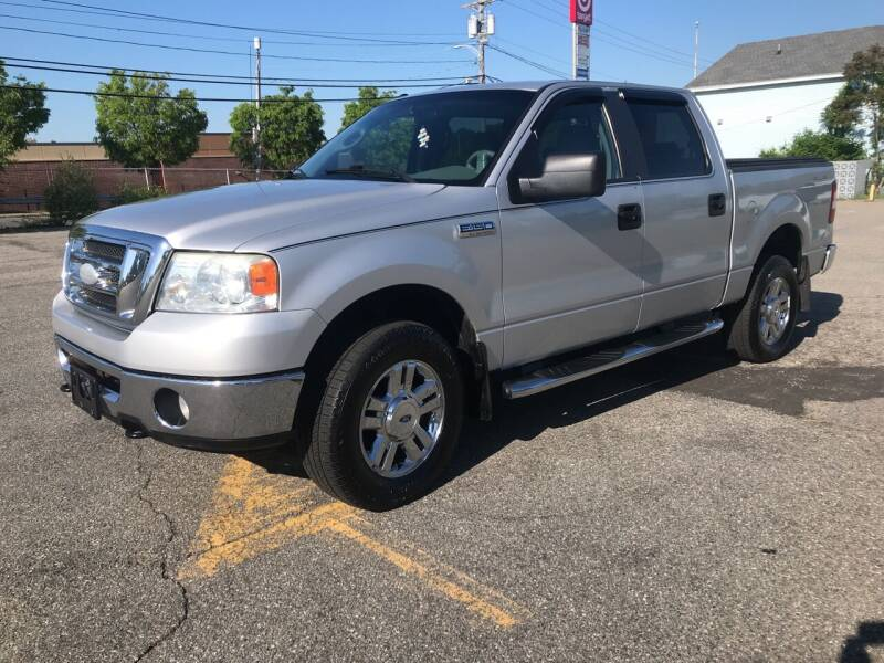 2008 Ford F-150 for sale at D'Ambroise Auto Sales in Lowell MA
