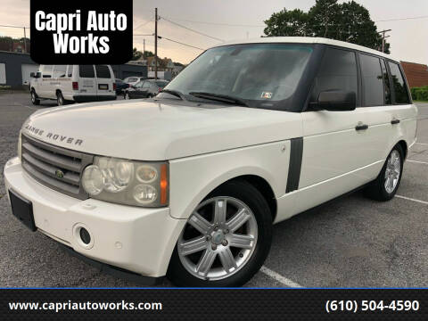 2006 Land Rover Range Rover for sale at Capri Auto Works in Allentown PA