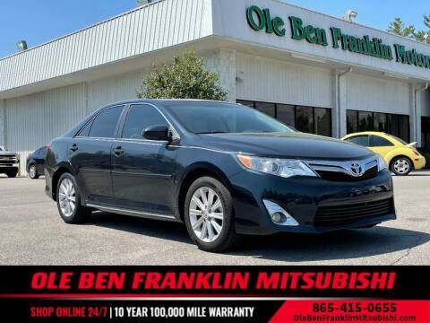 2014 Toyota Camry for sale at Ole Ben Franklin Mitsbishi in Oak Ridge TN