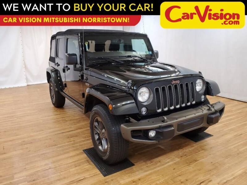 2016 Jeep Wrangler Unlimited for sale at Car Vision Mitsubishi Norristown in Trooper PA
