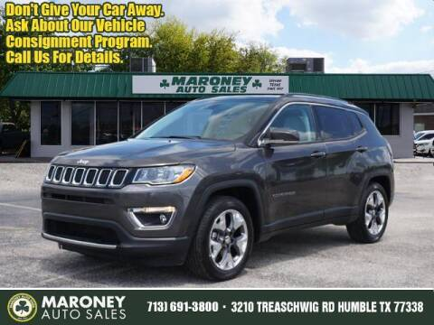 2020 Jeep Compass for sale at Maroney Auto Sales in Humble TX