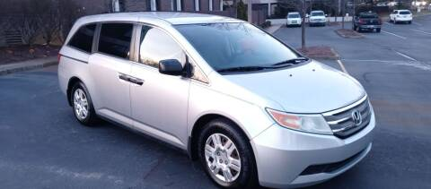 2012 Honda Odyssey for sale at Eddie's Auto Sales in Jeffersonville IN
