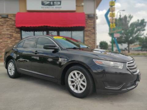 2015 Ford Taurus for sale at 719 Automotive Group in Colorado Springs CO