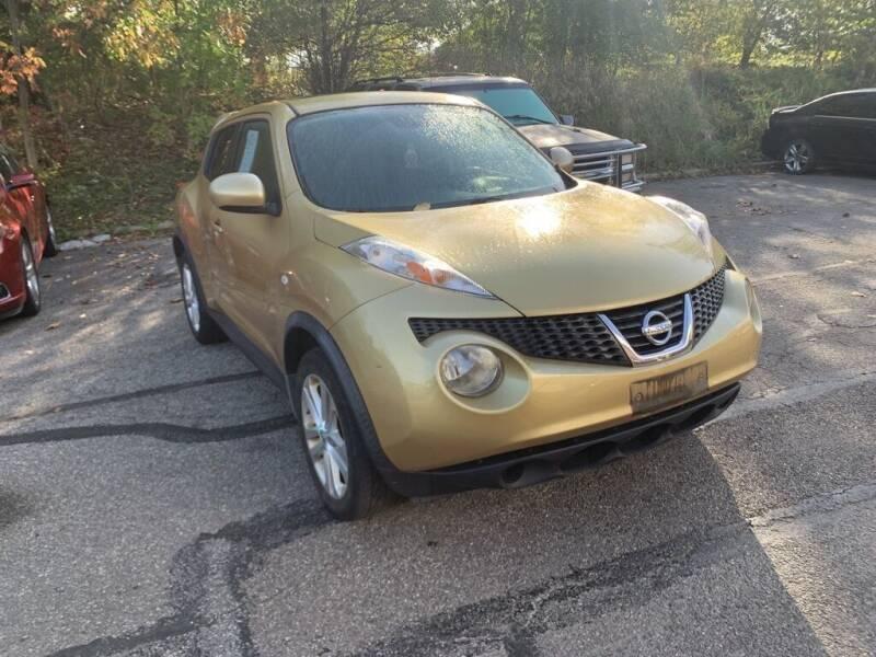 2013 Nissan JUKE for sale at Ganley Chevy of Aurora in Aurora OH
