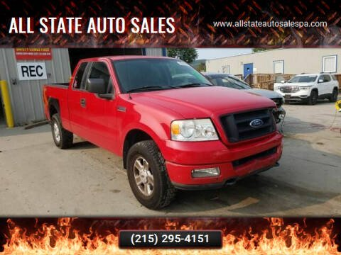 2005 Ford F-150 for sale at All State Auto Sales in Morrisville PA