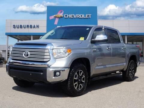 2017 Toyota Tundra for sale at Suburban Chevrolet of Ann Arbor in Ann Arbor MI