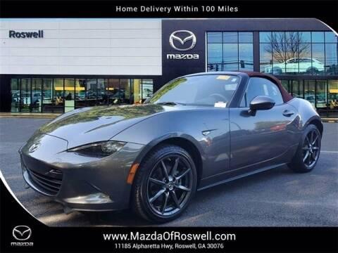 2018 Mazda MX-5 Miata for sale at Mazda Of Roswell in Roswell GA