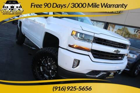 2017 Chevrolet Silverado 1500 for sale at West Coast Auto Sales Center in Sacramento CA