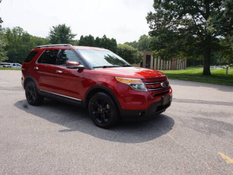 2013 Ford Explorer for sale at CLASSIC AUTO SALES in Holliston MA
