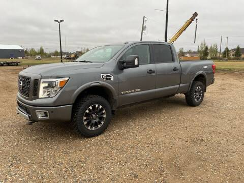 2016 Nissan Titan XD for sale at Truck Buyers in Magrath AB