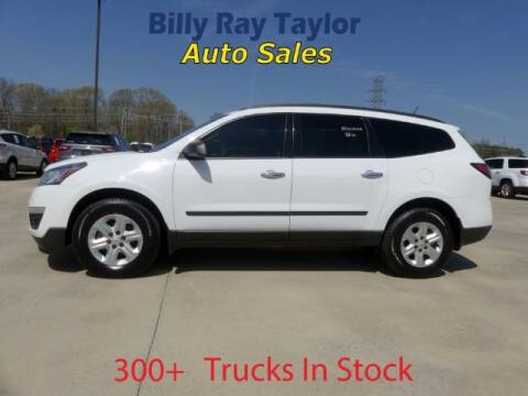 2016 Chevrolet Traverse for sale at Billy Ray Taylor Auto Sales in Cullman AL