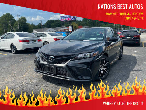 2021 Toyota Camry for sale at Nations Best Autos in Decatur GA