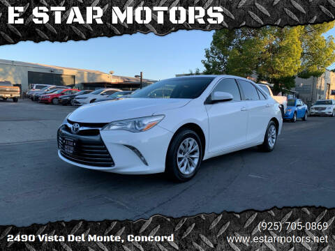 2016 Toyota Camry for sale at E STAR MOTORS in Concord CA
