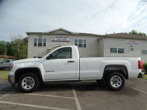 2014 GMC Sierra 1500 for sale at SOUTHERN SELECT AUTO SALES in Medina OH