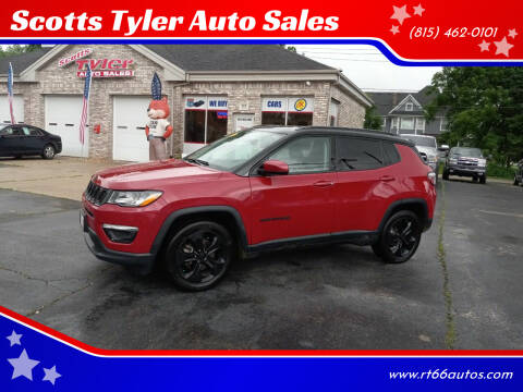 2018 Jeep Compass for sale at Scotts Tyler Auto Sales in Wilmington IL
