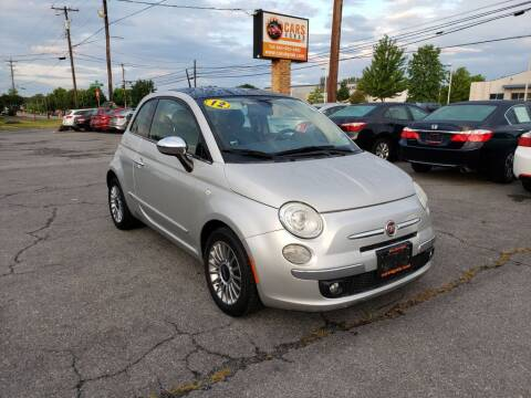 2012 FIAT 500 for sale at Cars 4 Grab in Winchester VA