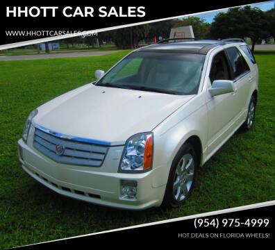 2008 Cadillac SRX for sale at HHOTT CAR SALES in Deerfield Beach FL