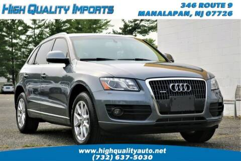 2012 Audi Q5 for sale at High Quality Imports in Manalapan NJ