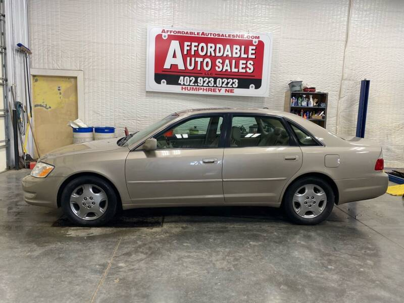 2003 Toyota Avalon for sale at Affordable Auto Sales in Humphrey NE