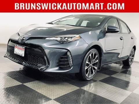 2019 Toyota Corolla for sale at Brunswick Auto Mart in Brunswick OH