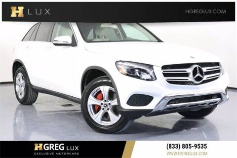 2018 Mercedes-Benz GLC for sale at HGREG LUX EXCLUSIVE MOTORCARS in Pompano Beach FL