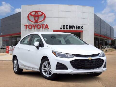 2019 Chevrolet Cruze for sale at Joe Myers Toyota PreOwned in Houston TX