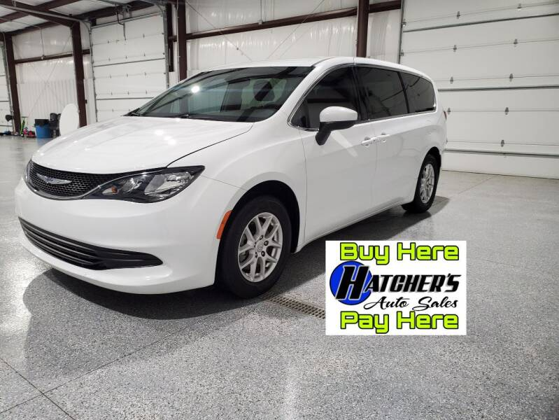 2017 Chrysler Pacifica for sale at Hatcher's Auto Sales, LLC in Campbellsville KY