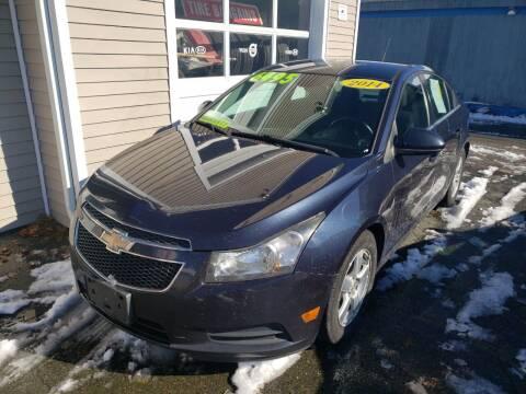2014 Chevrolet Cruze for sale at TC Auto Repair and Sales Inc in Abington MA