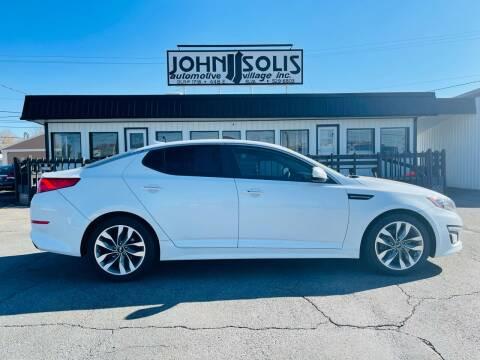 2014 Kia Optima for sale at John Solis Automotive Village in Idaho Falls ID