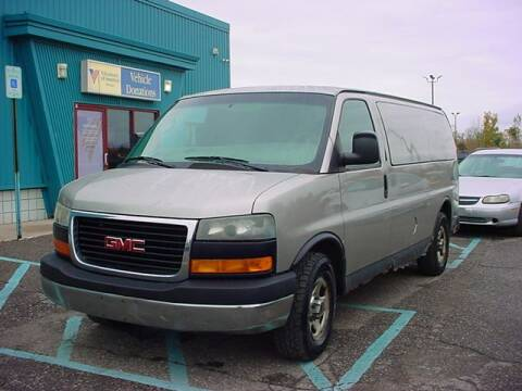 2004 GMC Savana Cargo for sale at VOA Auto Sales in Pontiac MI