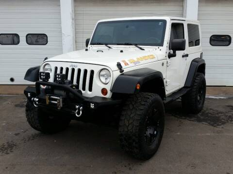 2010 Jeep Wrangler for sale at Action Automotive Inc in Berlin CT