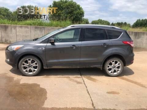 2015 Ford Escape for sale at BOB HART CHEVROLET in Vinita OK